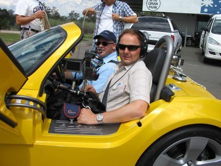 Andy Postle Television Sound Recordist in Drive