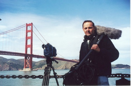 Andy Postle Working on Live This in San Francisco