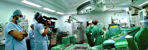 Filming Medical Emergency TV Show